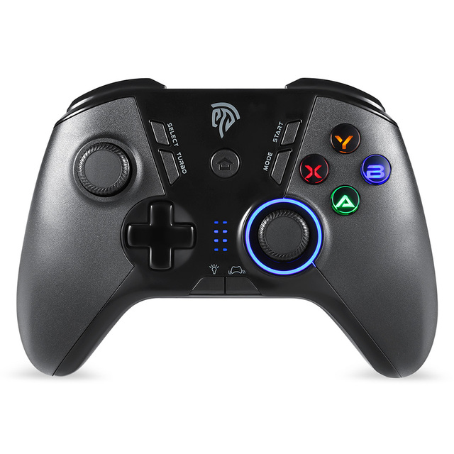 EasySMX ESM-9110 Gamepad Joystick Game Controller with LED Dual Vibration For PC PS3 Android TV BOX Nintend Switch Controller 1