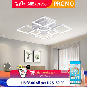 Image 1 - ใหม่Ledสำหรับห้องนั่งเล่นห้องนอนKitchernบ้านโคมระย้าโคมไฟเพดานLedโมเดิร์นโคมระย้าโคมไฟระย้า