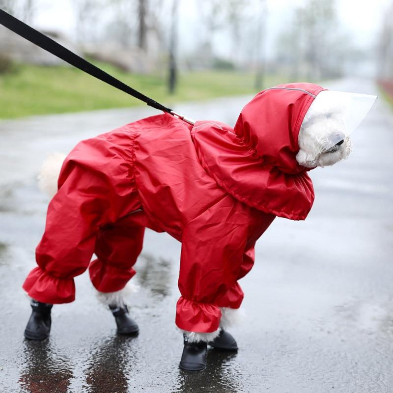 köpek tulum yağmurluk