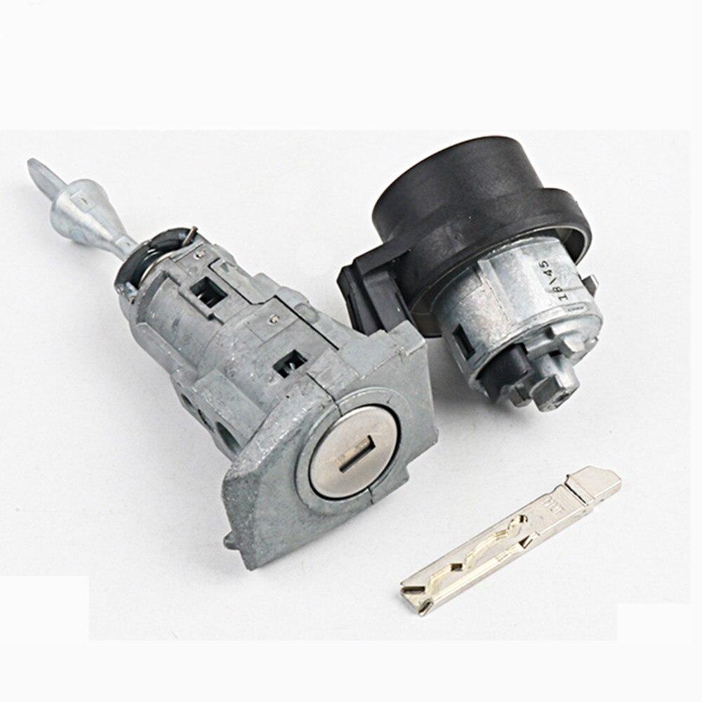 Cylindre de serrure de porte de voiture pour Volkswagen Lamando Golf 7 cylindre de verrouillage automatique de remplacement avec 1 clé pour outil de serrurier
