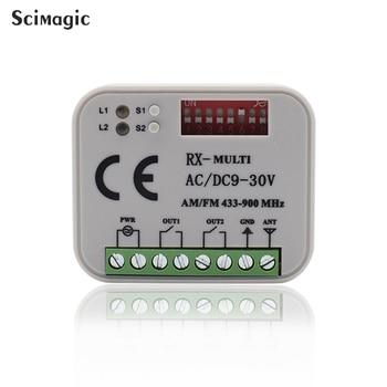10piece 300-868mhz gate remote transmitter receiver CLEMSA MASTERCODE DITEC Garage door remote control receiver