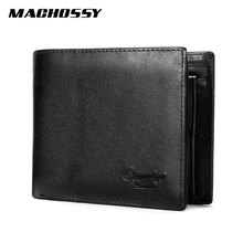 New Genuine Leather Wallet Men Leather