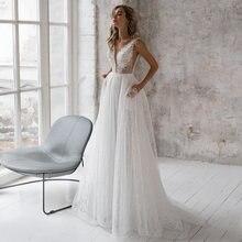 С v образным вырезом темно синее свадебное платье 2021 размера