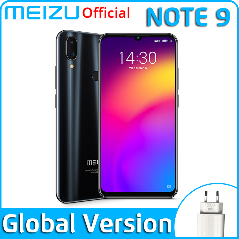 Global Version Meizu Note 9 4GB 64GB Smartphone Snapdragon 675 Octa Core Note9 48MP Dual Camera AI Front 20MP 4000mAh(China)