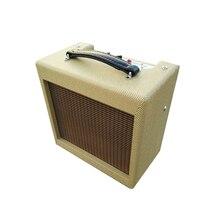 5 watt mão com fio todo o tubo amplificador de guitarra elétrica amplificador 8 polegada alto falante instrumentos musicais acessórios