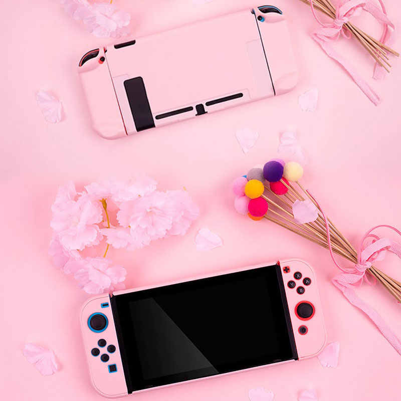 Nintend Switch Protective Case Joy Con Controller Shell Colorful Hard Housing Full Cover Shell For Nintendoswitch Game Console