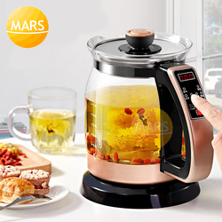 Household Appliances Full Automatic Electric Kettle Teapot Transparent Glass Mini Integrated Insulation Thermostat Intelligent