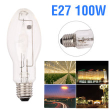 Металлогалогенная лампа 100 Вт промышленное освещение прочная Металлогалогенная лампа E27 MH 20000LM средняя база художественная галерея
