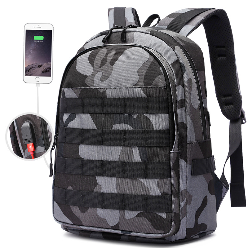 <font><b>PUBG</b></font> <font><b>Backpack</b></font> Cosplay Game Playerunknown's Battlegrounds Level 3 Instructor <font><b>Backpack</b></font> Outdoor Large Capacity <font><b>Backpack</b></font> New image