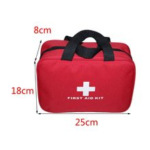 Car Travel First Aid Bag Large Outdoor Emergency kit Bag Cam