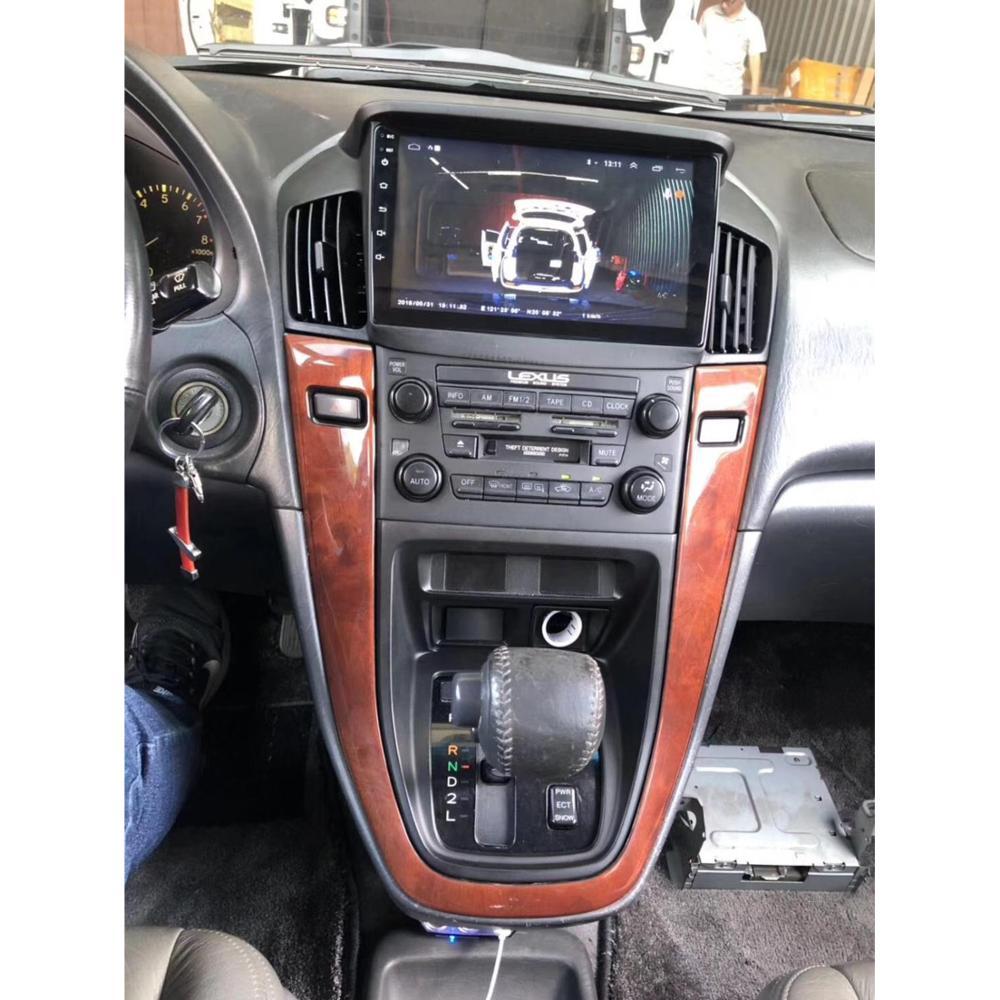 Chogath10inch Android 8.0 car Multimedia Player Quad Core Car Radio GPS Navigation for Lexus RX300 1999-2003