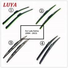 Luya quatro tipos de limpador de pára-brisa do carro da lâmina de limpador para lada kalina (2004 - 2013) tamanho: 24
