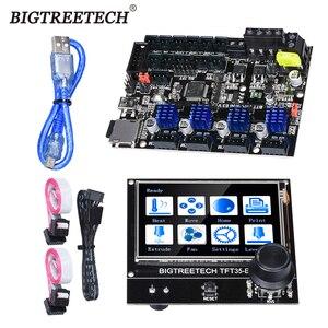 BIGTREETECH SKR MINI E3 32 bits carte de commande E3 DIP TFT35-E3 V3.0 écran tactile TMC2209 TMC2208 pilote pour imprimante 3D Ender-3