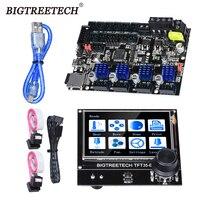 Bigtreetech skr mini e3 32 bit placa de controle e3 dip TFT35-E3 v3.0 tela toque tmc2209 tmc2208 driver para impressora 3d Ender-3