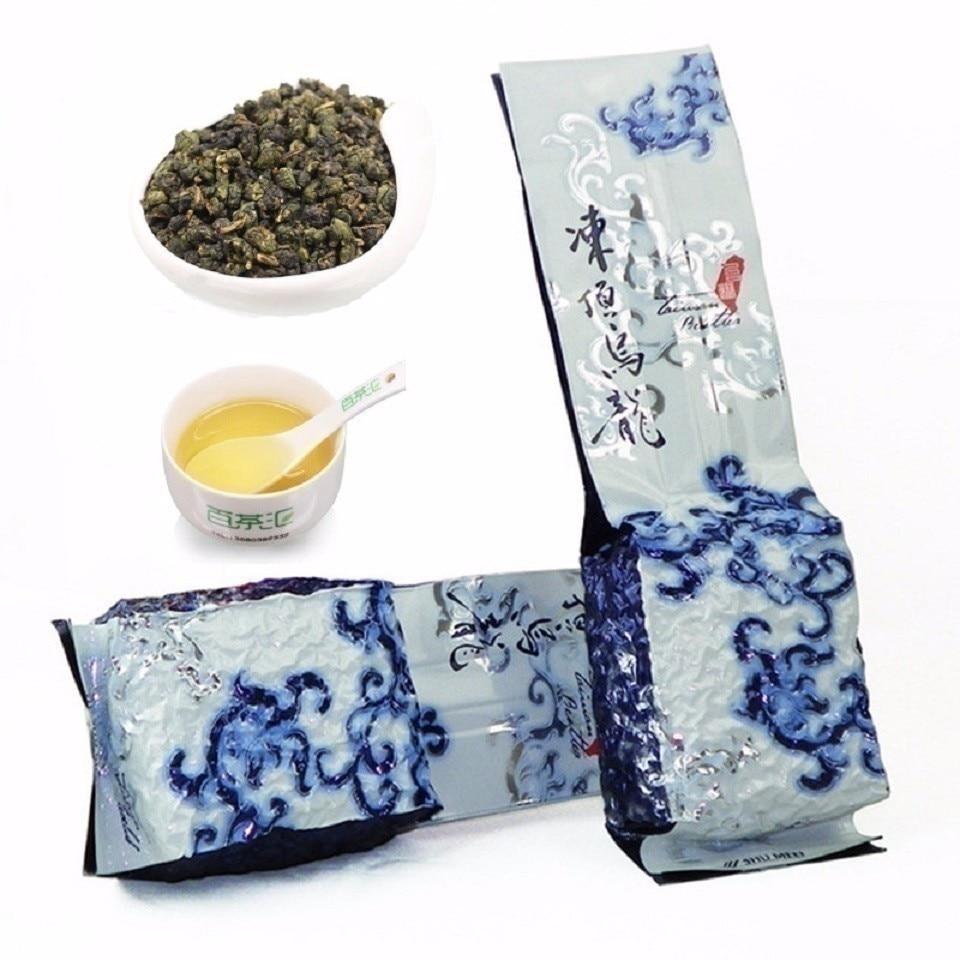 Chinese Taiwan High Mountains JinXuan Milk Oolong Tea Beauty Weight Loss Tea Milk Flavor Lowering Blood Pressure Green 125g