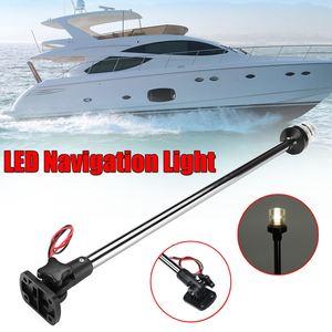 12-24V Fold Down Marine For Boat LED Navigation Lights Marine For Boat Yacht Stern Anchor Light LED Sailing Light Lamp(China)