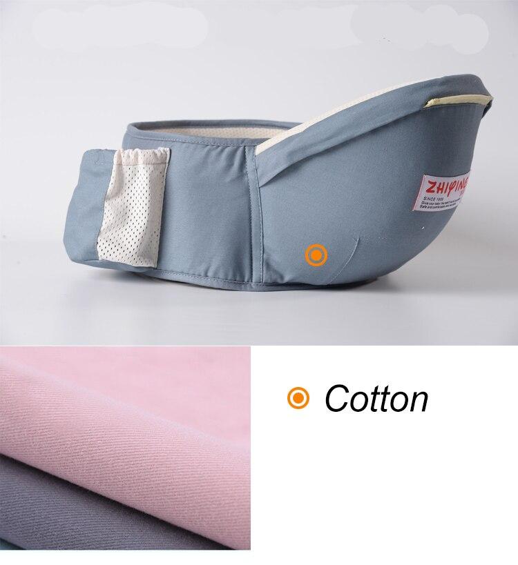 Ergonômico portador de bebê mochila envoltório transportadora