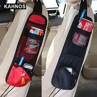 Nouveau sac de rangement de siège de voiture organisateur de voiture pour ranger le sac latéral de siège automatique poche suspendue sacs en tissu Non tissé style de voiture