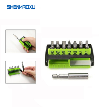 Screwdriver Set 8 in 1 Hand tools and Electric Screwdriver Bits with Slotted Phillips Hex Repair Tool Set For Iphone Pc Home Diy 6pcs insulated screwdriver set tester with ce gs slotted phillips screwdriver wtith magnetic hand tool kit
