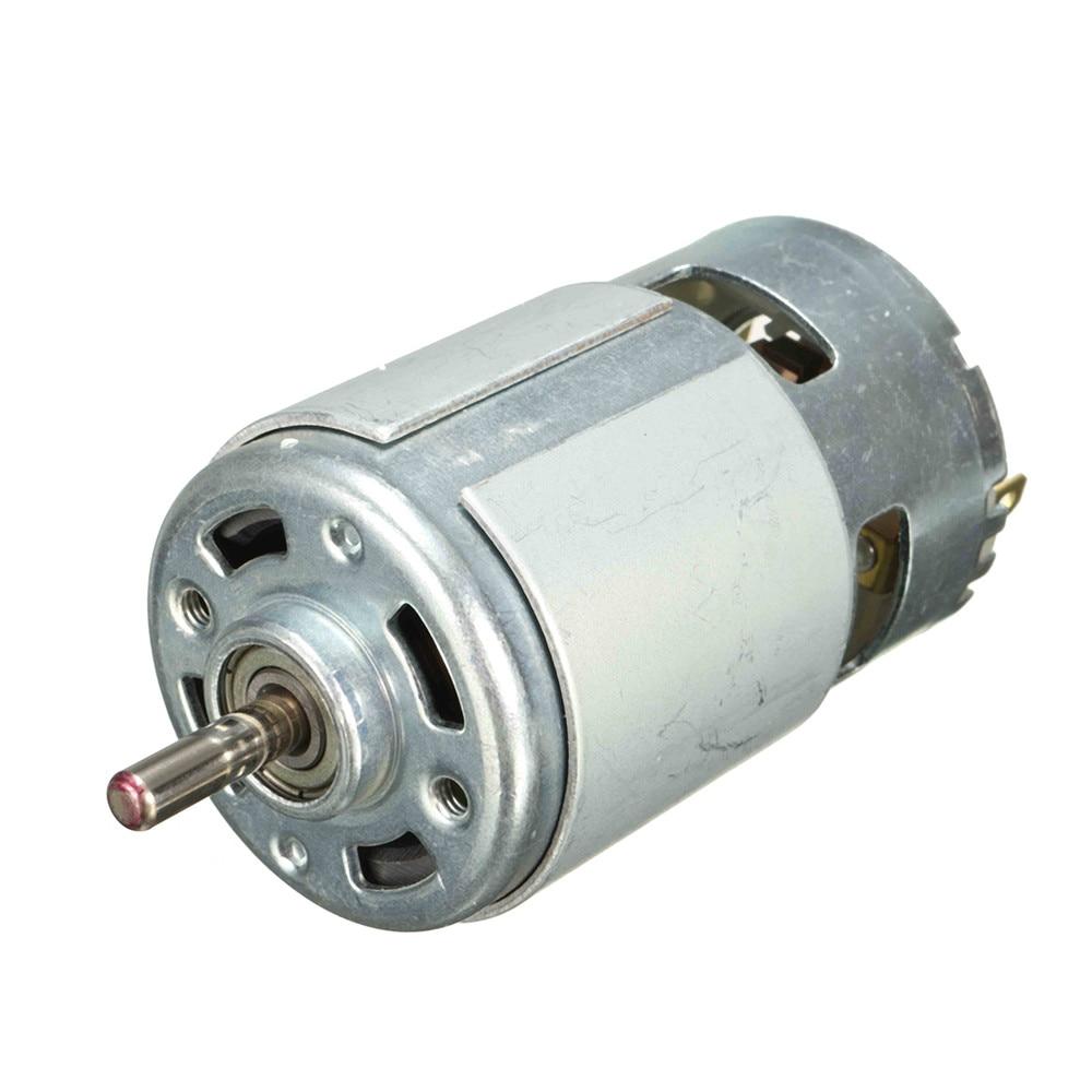 775 мотор микро DC Мотор DC 12V 13000RPM шариковый подшипник большой крутящий момент высокая мощность низкий уровень шума электронный компонент мот...