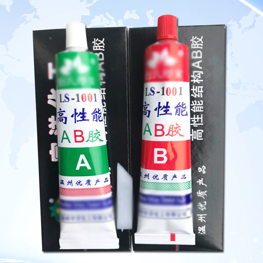 Waterproof AB Glue Acrylic Structure Adhesive for Metal Plastic Ceramic Wood 80g AB Glue Strong Adhesive Wood Glue