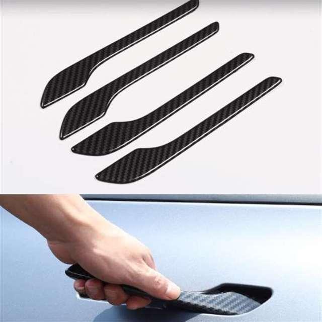 набор из 4 предметов для tesla model 3 y автомобильные дверные фотография