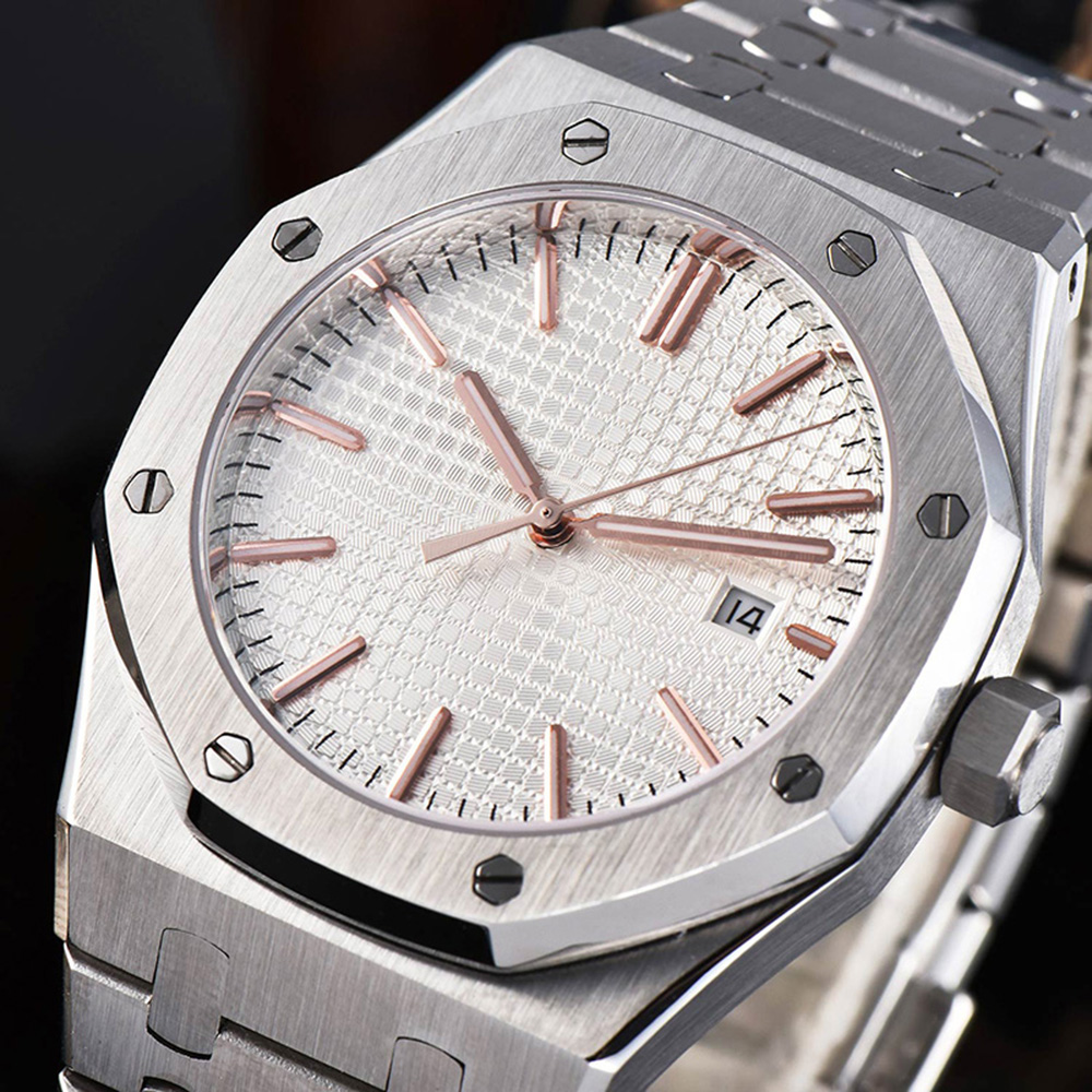 Men Watch 41mm Automatic Mechanical Watches Men Top Luxury Brand Fashion Sport Stainless Steel Waterproof Luminous Watch 007  - buy with discount