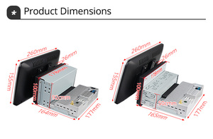 Image 5 - Ownice 1 din 2 din 1280*720 회전 DSP 360 파노라마 4G LTE SPDIF 범용 안드로이드 10.0 K3 K5 K6 자동차 라디오 플레이어 GPS Navi