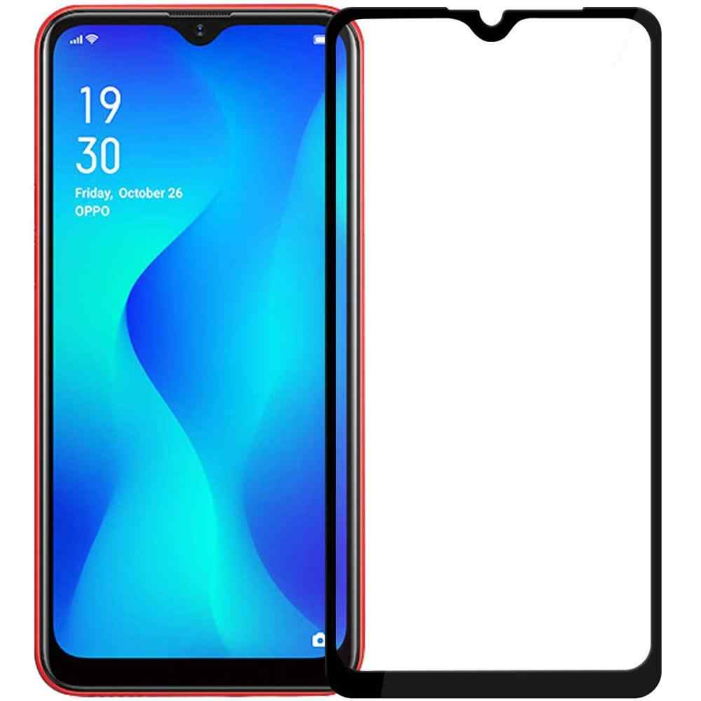 3D 9H Tempered Glass on OPPO A1K Full Coverage Screen Protector Protective Film For OPPO A1K CPH1923