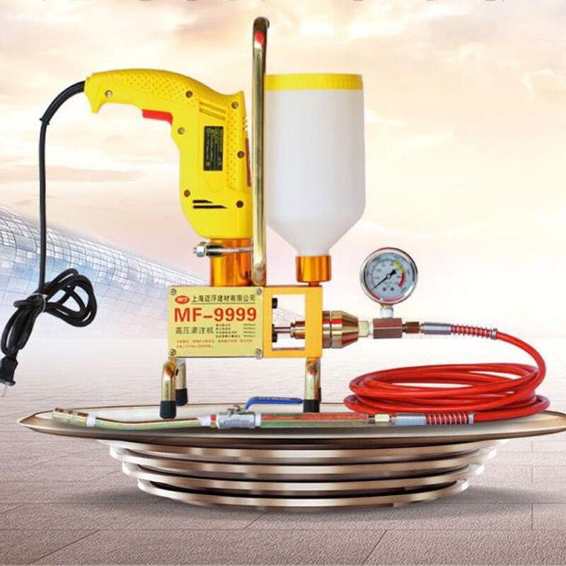 Espuma de poliuretano/inyección de Epóxico, máquina de lechada, máquina de bomba de lechada de cemento