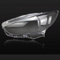 Para mazda artz 2014 2018 lente máscara da lâmpada frente farol sombra lente capa lente luz de vidro farol capa da lente|Cúpulas p/ abajur| |  -