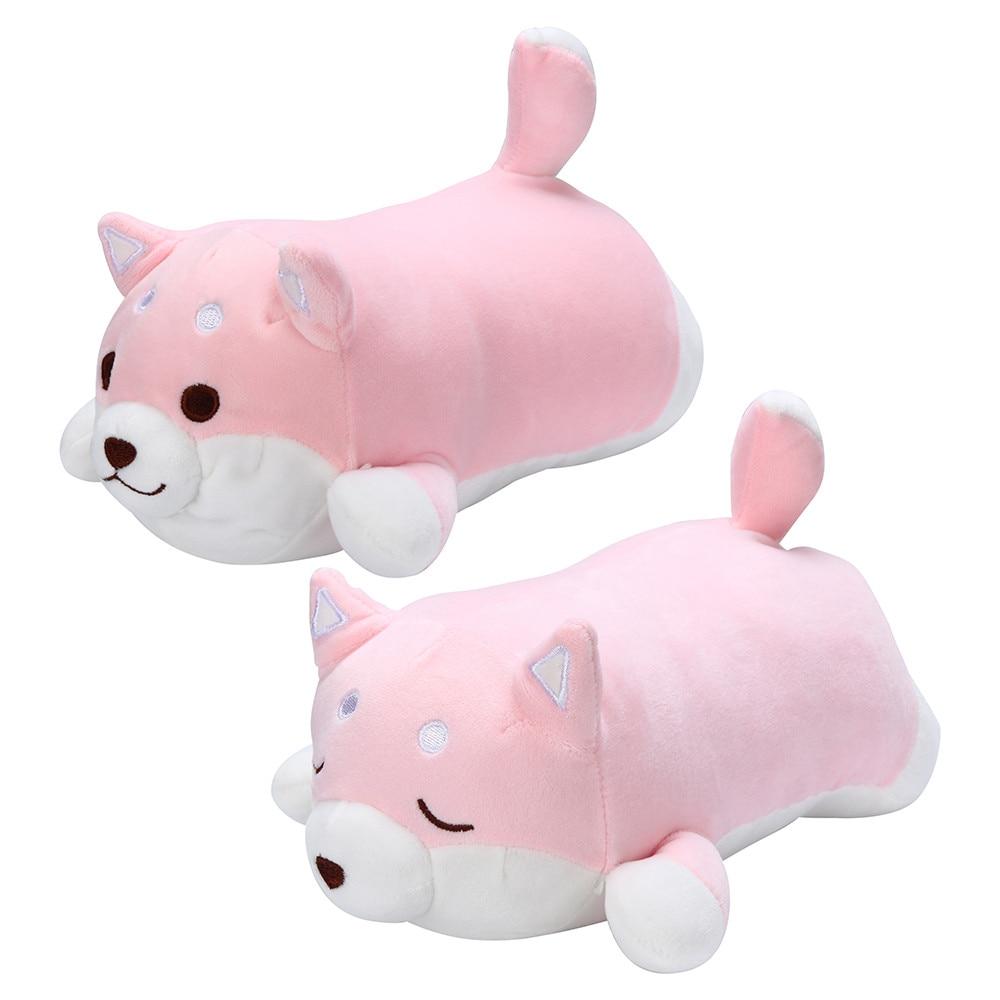 Anime Shiba Inu Plush Stuffed Sotf Pillow Doll Cartoon Doggo Cute Shiba Soft Toy Plush Toys Cartoon Child Baby For Birthday Gift