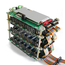 48V moc ściany 18650 uchwyt baterii 48v akumulator litowo Balancer PCB 13s 14s 20A 45A BMS obudowa baterii dla DIY Ebike baterii