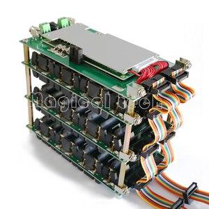 Image 1 - 48v potência parede 18650 bateria titular 48v, bateria bloco de lítio equilibrador pcb 13s 14s 20a 45a bateria ebike bms para diy