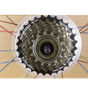 Bicycle Wheel Spoke Protector Mountain Road Bile Cassette Sprocket Freewheel Cover 5/7 Speed Flywheel Protective Guards Access