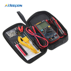 AN8009 Auto Range Digital Multimeter 9999 counts With Backlight AC/DC Ammeter Voltmeter Ohm Transistor Tester Multi Meter(China)