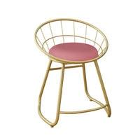 נורדי איפור שרפרף הלבשה שולחן כיסא איפור כיסא מודרני מינימליסטי נטו אדום שרפרף שינה בית creative כיסא| |   -
