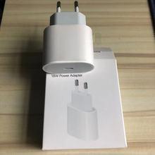 10 sztuk OEM 18W szybkie ładowanie ładowarka PD dla 11 12 Pro Max prawdziwa rodzaj USB C kabel ue usa AU zasilacz podróżny