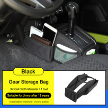 Car Gear Shift Storage Bag Side Case Organizer Muti Pockets for Suzuki Jimny 2019 2020 Interior Accessories Drop Shipping