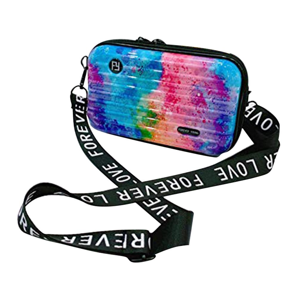 Hard Case Cosmetic Bag Waterproof Mini Makeup Handbag For Informal Dating Cosmetics Bag Make Up Tool in Eye Shadow Applicator from Beauty Health