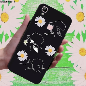 Daisy 1 Soft TPU Case Cover For Vivo IQOO S1 Y7S Z5 V17 NEO Z1X Y19 U3 Y5S image