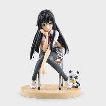 Anime My Teen Romantic Comedy Snafu Yukinoshita Yukino PVC Action Figure Collectible Model doll toy 14cm 1pcs 16cm pvc japanese anime figure my teen romantic comedy snafu wave yukinoshita yukino swimsuit ver action figure