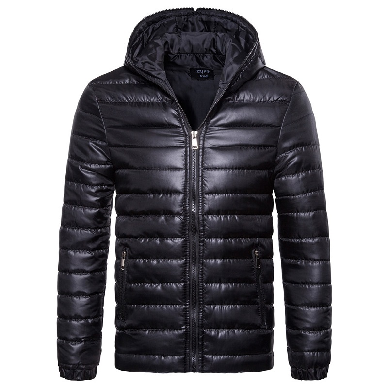 Foreign Trade New Hooded Men Down-filled Coat