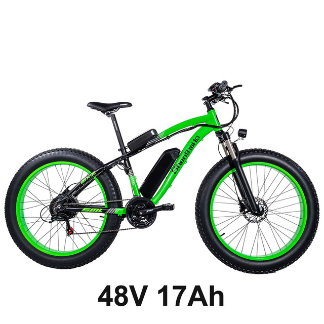 /XXCY MX02 Electric Bicycle 26 Electric Mountain Bike With 48V Lithium-Ion Battery With BAFANG 500W//1000W Powerful Motor Shimano TX55//7 Speed Pull