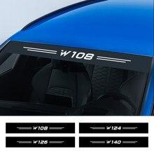 زجاج سيارة ملصقات لمرسيدس بنز W124 W126 W140 W168 W169 W176 W221 W177 W203 W205 W210 W211 W212 W213 W220 Assessoires