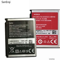 Bateria para SAMSUNG i220 i225 AB653850CA AB653850CU i627 d720 a850 m900 t939 I9020t SanErqi