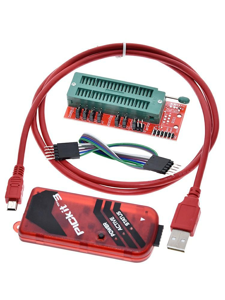 Programmer-Adapter PICKIT Microcontroller-Chip Monopoly GREATZT KIT3 Seat Offline