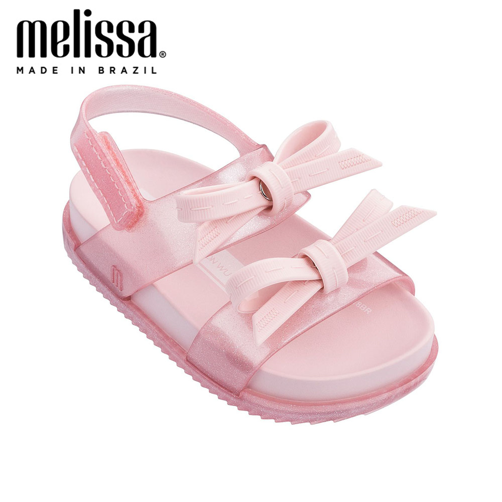 Mini Melissa Shoes 2020 Girls Sandals Summer Kids Shoes Children Jelly Sandal Jelly Shoe Girl Non-slip Kids Beach Sandal Toddler