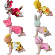 Electric Intelligent Doll Laughing Crying Singing Crawling Baby Dolls Furry Clothes Suit Girl Toy Gift 60959EE-1