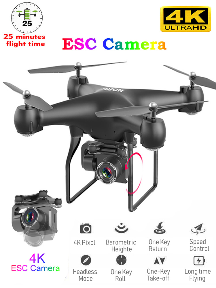 Rc-Drone UAV Camera Remote-Control-Toy WIFI Profesional Quadrocopter Wide-Angle Photography